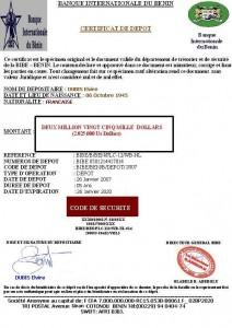 CERTIFICAT DE DEPOT DE MADAME DUBIS Elvire-2
