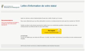 phishing impots