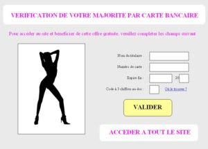 sites porno utilisent votre carte
