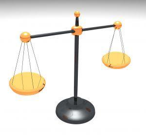 balance de la justice pour recours