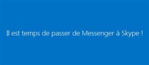 Passer de MSN Messenger à Skype