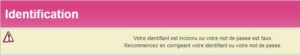 phishing Crédit Mutuel : Erreur