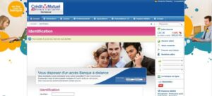 phishing Crédit Mutuel : fausse page