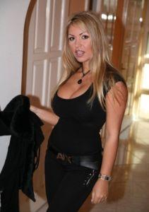 Sandra de marco black stockings threesome - 5 1
