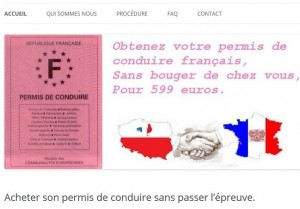rapide-permis.com : arnaque au permis de conduire