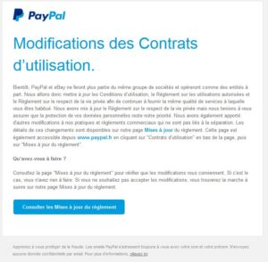 Ebay se sépare de Paypal : Recrudescence de phishing !