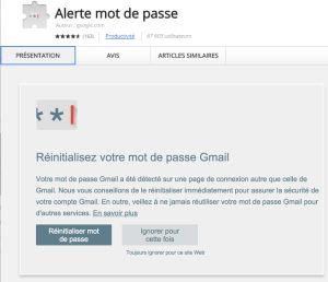 Google lance «alerte mot de passe» contre le phishing
