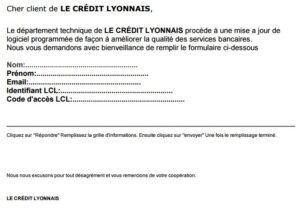 phishing LCL