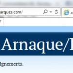 Un site frauduleux pour combattre les «anarques»