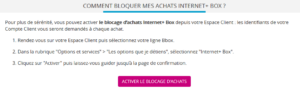 internet + Bouygues