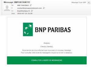 Phishing BNP