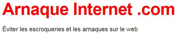 Arnaque Internet .com