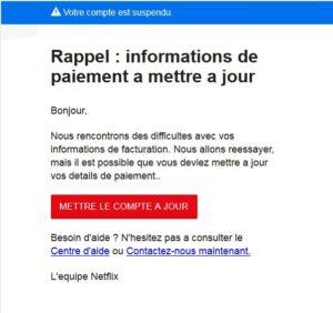 Phishing Netflix