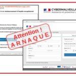 Arnaque Covid-19 : Faux courriel de remboursement d'impôts